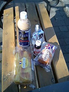 日比谷公園でほのぼのランチ