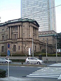 ここが噂の日本銀行本店