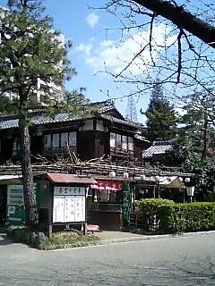 鶴舞公園の茶屋