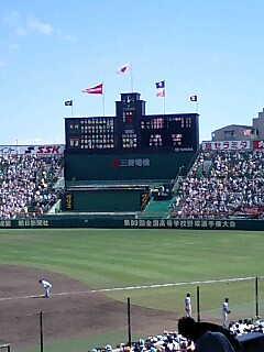 夏の高校野球は甲子園に来てでみるのが一番!